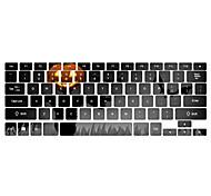 """patrón de calabaza cubierta para teclado de 13 """"15"""" macbook pro"""