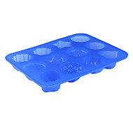 Silica Gel Multiple Pudding Jelly Shaped Cake Pan Mold