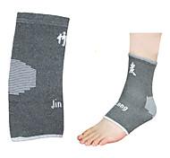 Nano Bamboo Charcoal Fiber Jacquard Ankle Guard (1 Piece)