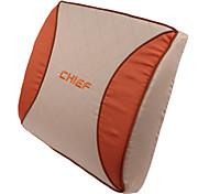 Haute Qualité voiture Coussin en mousse haute résilience lombaire, Mood Orange (1 paire)