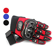 Leisure Sports Polyester Full Finger Motobike Gloves