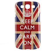 "Hülle für Samsung Galaxy S3 I9300 mit Union Jack ""Keep Calm and Carry On"" (Mehrfarbig)"