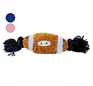 Регби с плетеной веревки писк игрушки для собак