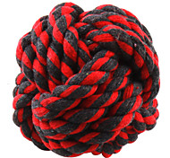 Dog Pet Toys Ball / Chew Toy Woven Random Color Cotton