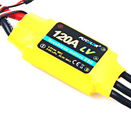 Flycolor 120A 6S ESC for Airplane with Brushless Motor (Random Colors)