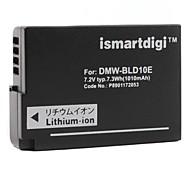 ismartdigi sostituzione della batteria DMW-bld10e per Panasonic DMC-GF2, g3, gx1