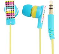 kanen Farbe Auflage In-Ear-Ohrhörer magnetische