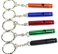 Outdoor Aluminium Whistle of High Penetration (Assorted Colors)
