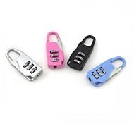MUXINCAMP Mini Luggage Locks Outdoor Travel Carabiner (Random Color)
