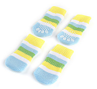 Dog Socks & Boots Spring/Fall - Blue Cotton