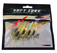 Luminous Shrimp Soft Bait (5 Pieces/Pack)