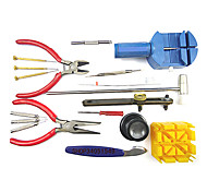 18 Pieces Deluxe Wrist Watch Repair Tool Kit Set Case