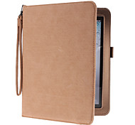 Corduroy PU Leather Case with Stand for iPad 2/3/42 (Assorted Colors)