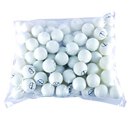 100 Pcs Table Tennis Balls (Yellow,White)