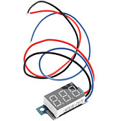 0~99.9V Electric Motorized Car Voltage Display Board (Black)