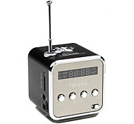 LED-Bildschirm Stilvolle Multifunktionale Mini-Lautsprecher mit FM-Radio