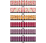12PCS Nail Art Nail Stickers Six Pattern To Choose