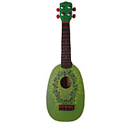 (Kiwi) Ukulele Fruit-design Basswood com o saco / String / Escolhas