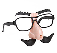 Funny Clockwork Nose and Glasses Prop for Halloween Costume Party
