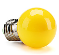 E26/E27 0.5 W High Power LED 50 LM Yellow G Globe Bulbs V