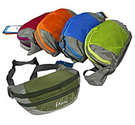 Waist Bag/Waistpack Camping & Hiking Compact 14 L Green / Pink / Blue / Orange / Army Green Polyamide