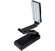 2W 27-LED Fold Eyeshield Reading Table Desk Lamp (Black, 220V)