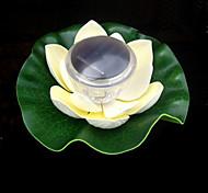 Couleur Changeante flottante solaire Lotus Fleur Jardin Piscine veilleuse