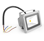 10W 1 Integrate LED 1000 LM Warm White LED Flood Lights AC 85-265 V