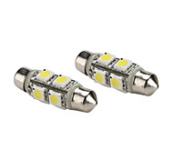Festoon Car White 1.5W SMD 5050 6000 Reading Light