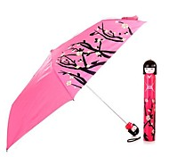 Super Cute Bottled Anti-Uv Collapsible Umbrellas (Random Color)