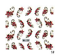 1pcs 2D Other Beautiful Nail Sticker