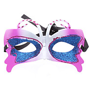 Butterfly Half Mask for Masquerade Party (Random Color)