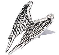 Engelsflügel Silberplatte ring