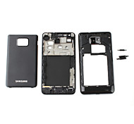 Replacement Front Frame Panel, Middle Chassis and Battery Cover for Samsung Galaxy S2 I9100