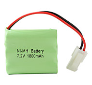 Double Layer Ni-MH AA Battery with 557 Port (7.2v, 1800 mAh)