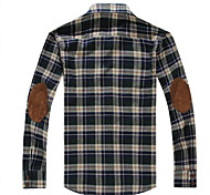 Check Slim Cotton Shirt