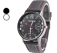 Men's Watch Dress Watch Simple Design With Plastic Band Wrist Watch Cool Watch Unique Watch