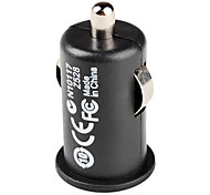 USB Car Charger for iPhone 5(Black)