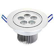 Luces de Techo Luces Empotradas 5 W 5 LED de Alta Potencia 525 LM Blanco Cálido AC 100-240 V