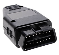 OBD2 16-Pin Connector Car Diagnostic Male Cable
