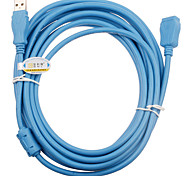 USB macho a hembra Cable de extensión de 2,0 (5m)