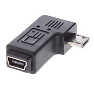 Micro USB Male to Mini USB Female Adapter for Samsung Galaxy S3 I9300 and Others