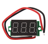DIY 3-Digit LED Digital Voltmeter Module for Car & Motorcycle & Electric Vehicle (4~30V)