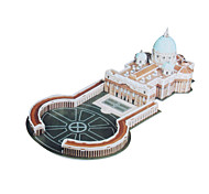 DIY Architecture 3D Puzzle St. Peter's Basilica (50pcs, difficulty 4 of 5)