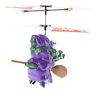 Vliegende Heks 3,5 Kanalen Gyro Remote Control Helicopter met Licht (verschillende kleuren)