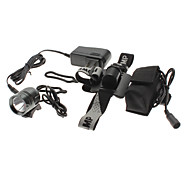 3-Mode Cree XM-L T6 LED Rechargeable Headlamp Set (Battery Pack + AC Charger)