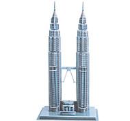 DIY Paper 3D Puzzle Kuala Lumpur Convention Centre KLCC (84pcs, No.2803-A)