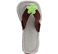 Slippers Style Tooth Cleaning Green Loofah Pet Toys