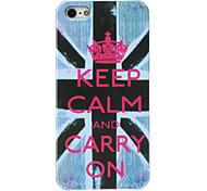 UK National Flag Pattern Hard Case for iPhone 5/5S