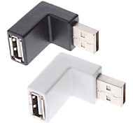 USB Male to USB Female Adapter (Assorted Colors)